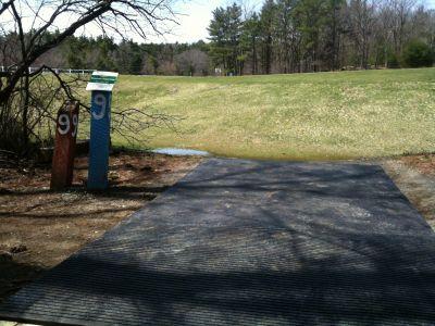 Pye Brook Park, Main course, Hole 9 Tee pad