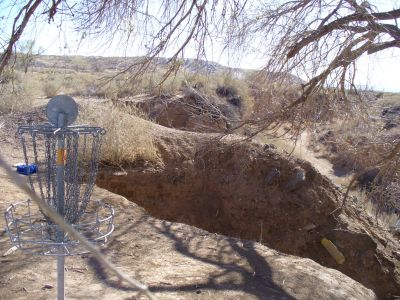 Brent Baca Memorial, Main course, Hole 4 Reverse (back up the fairway)