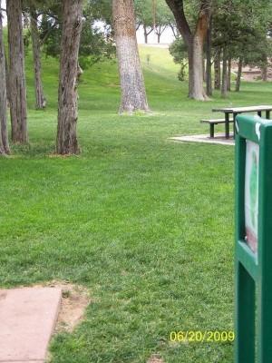Roosevelt Park, Main course, Hole 7 Tee pad