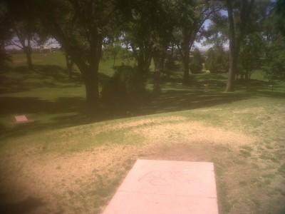 Roosevelt Park, Main course, Hole 6 Tee pad