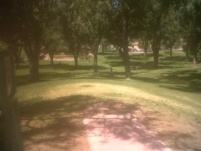 Roosevelt Park, Main course, Hole 9 Tee pad