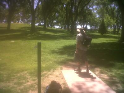 Roosevelt Park, Main course, Hole 2 Tee pad