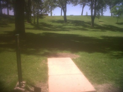 Roosevelt Park, Main course, Hole 3 Tee pad