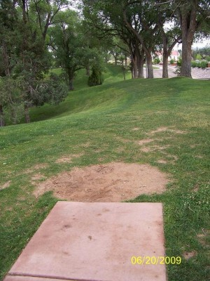 Roosevelt Park, Main course, Hole 4 Tee pad