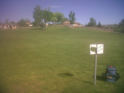 Vista Hills Park, Main course, Hole 2 Tee pad