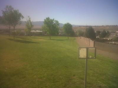 Vista Hills Park, Main course, Hole 4 Tee pad