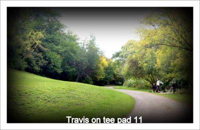 Centennial Gardens, Main course, Hole 11 Tee pad