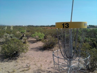 New Mexico State, Main course, Hole 13 Reverse (back up the fairway)