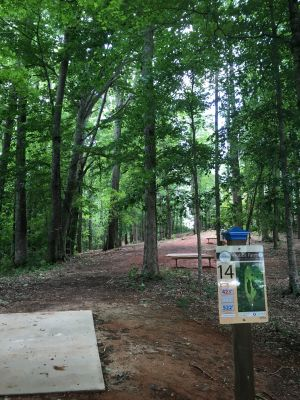 Hole 14 Hobbs Farm Carrollton Ga Disc Golf Courses Disc Golf Scene