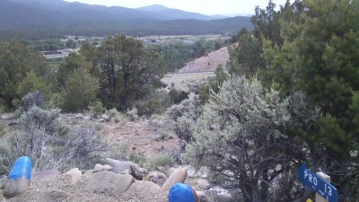 Picuris Pueblo DGC, Main course, Hole 13 Long tee pad