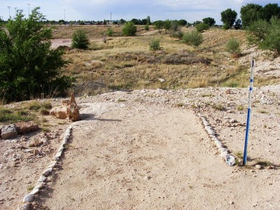 Portales Sports Complex, Main course, Hole 1 Tee pad