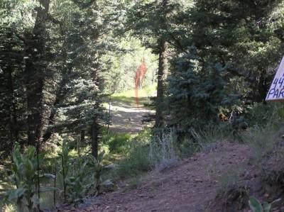 Mallette Park, Main course, Hole 8 Long tee pad
