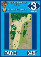 Outdoor Adventure DGC, Main course, Hole 3 Short tee pad