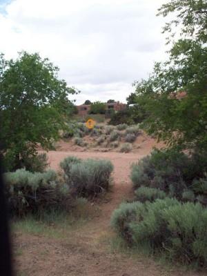 Arroyo Chamisos, Main course, Hole 1 Long tee pad