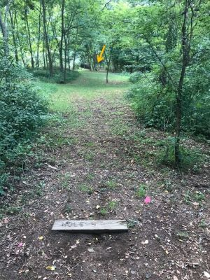 Rush Creek Park, Main course, Hole 4 Tee pad