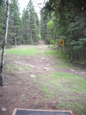 Sipapu Ski & Summer Resort, Main course, Hole 13 Long tee pad