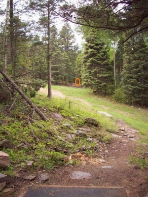 Sipapu Ski & Summer Resort, Main course, Hole 16 Long tee pad