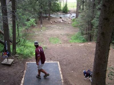 Sipapu Ski & Summer Resort, Main course, Hole 3 Tee pad