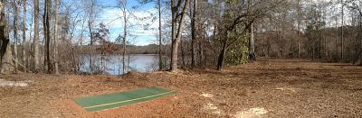 Dundee Lake, Main course, Hole 15 Tee pad