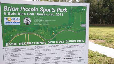 Brian Piccolo Park, Main course, Hole 1 Long tee pad