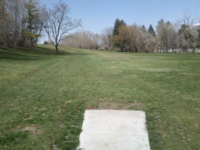 John Adams, Main course, Hole 4 Tee pad