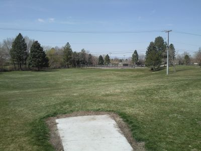 John Adams, Main course, Hole 2 Tee pad