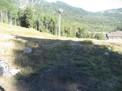 Snowbasin, Main course, Hole 7 Long tee pad