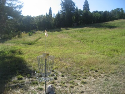 Snowbasin, Main course, Hole 6 Reverse (back up the fairway)