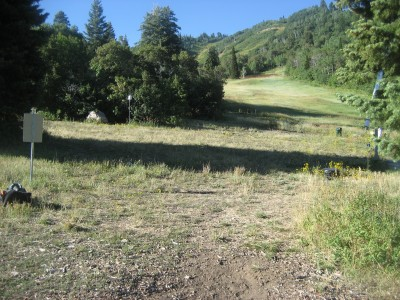 Snowbasin, Main course, Hole 5 Long tee pad