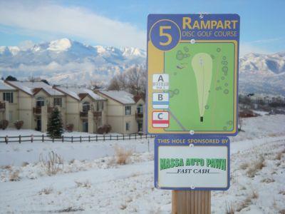 Hole 5 • Rampart Park DGC (Colorado Springs, CO) | Disc Golf