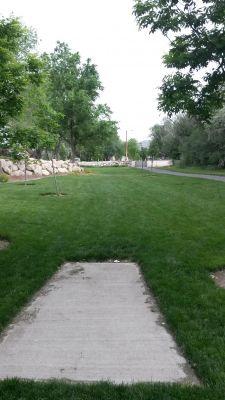 Dry Creek Trail Park, Main course, Hole 5 Tee pad