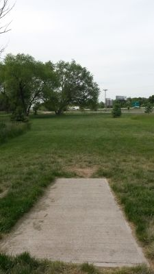 Dry Creek Trail Park, Main course, Hole 3 Tee pad