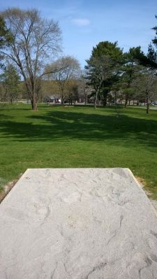 Gordon College, Main course, Hole 3 Tee pad