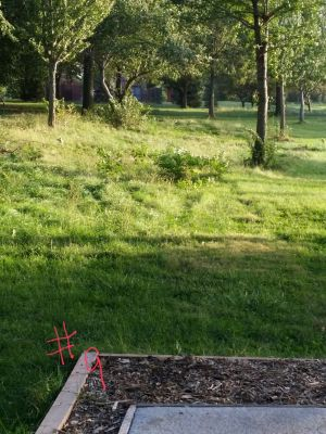 Max E. Roper Interstate Park, East course, Hole 9 Long tee pad
