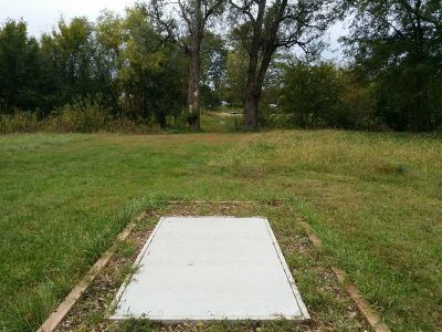 Max E. Roper Interstate Park, East course, Hole 13 Short tee pad