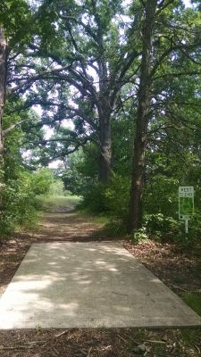 Northend Riverside Park, West course, Hole 18 Long tee pad