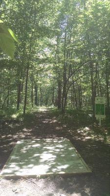 Northend Riverside Park, West course, Hole 9 Long tee pad