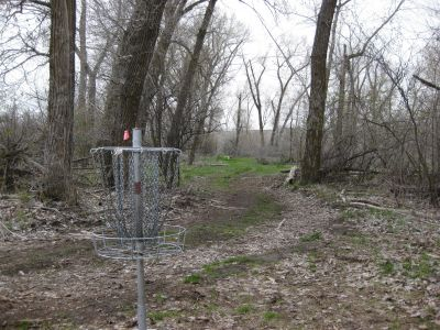Riverpark, Main course, Hole G Reverse (back up the fairway)