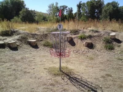 Riverpark, Main course, Hole 1 Putt