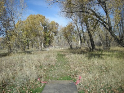 Riverpark, Main course, Hole 11 Long tee pad