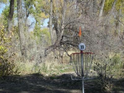Riverpark, Main course, Hole 11 Putt