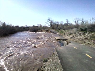 Riverpark, Main course, Hole E Long tee pad
