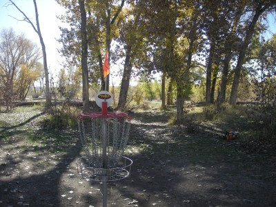 Riverpark, Main course, Hole 11 Reverse (back up the fairway)