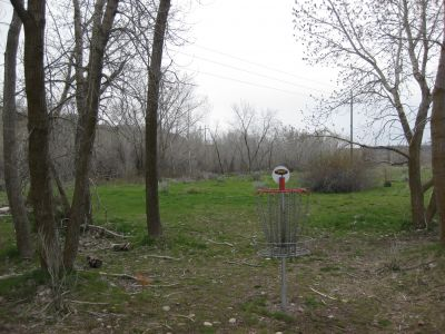 Riverpark, Main course, Hole F Reverse (back up the fairway)