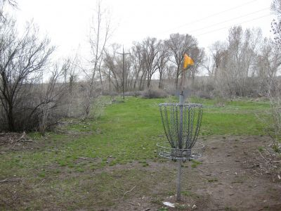 Riverpark, Main course, Hole H Reverse (back up the fairway)