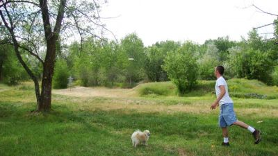 Riverpark, Main course, Hole 2 Midrange approach