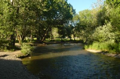 Creekside Park, Main course, Hole 14 Long tee pad