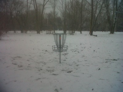 Creekside Park, Main course, Hole 11 Reverse (back up the fairway)