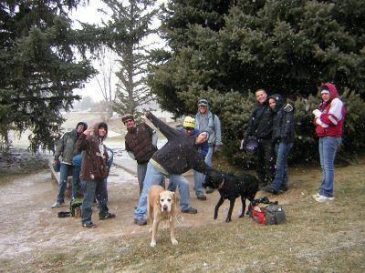 Creekside Park, Main course, Hole 1 Tee pad