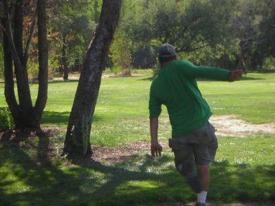 Creekside Park, Main course, Hole 18 Tee pad
